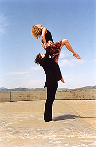 Kathleen Hermesdorf and Albert Mathias