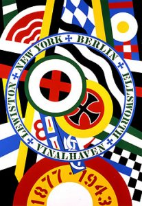 Robert Indiana, The Hartley Elegies: The Berlin Series, KVF IV (1990), serigraph