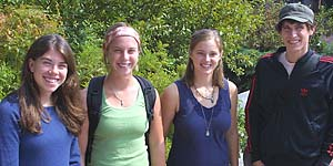Student volunteer fellows for 2005-06