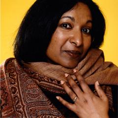 Poet Meena Alexander