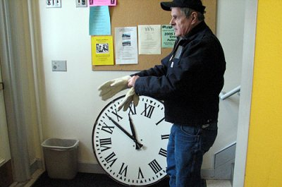 Class of '31 Clock gets a facelift