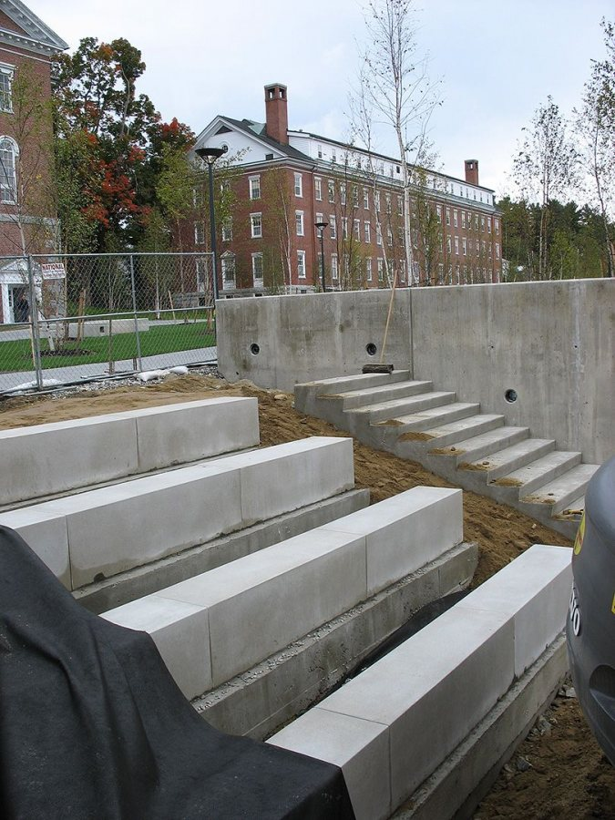 The amphitheater. (Doug Hubley/Bates College)