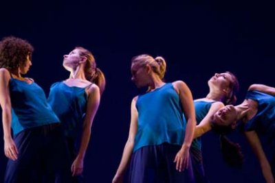 A new work by choreographer Peter Kyle, formerly of the Mark Morris Dance Group, will be featured in performances by the Bates College Modern Dance Company at 7:30 p.m. Saturday, Sept. 29, and noon Sunday, Sept. 30, in Schaeffer Theatre, 305 College St.  Bates students choreographed the other dances on the program.  The student choreographers are Sarah Wolff, a senior from Riverdale, N.Y.; the team of seniors Emma Arenstam of Saco, Maine, Alissa Horowitz of Yorktown Heights, N.Y, and sophomore Marlena Weinberg of Tampa, Fla.; and Kelly Griffin, a junior from Turners Falls, Mass.