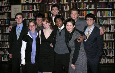 Bates 2007 debaters