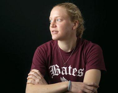 "Isabel ""Izzy"" Alexander '09 of Harvard, Mass., All-America indoor and outdoor women's track co-captain."