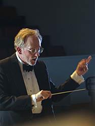 Choir director John Corrie