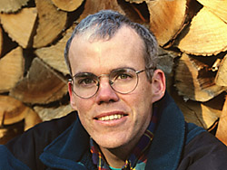 Author Bill McKibben. photo by Nancie Battaglia<br /> photo must be credited on all uses or fees will double, thank you.