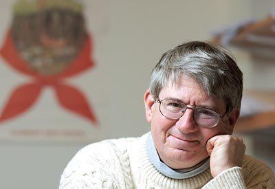 James Richter, Professor of Politics, in his Pettengill Hall Office.