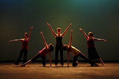 The Bates Modern Dance Company