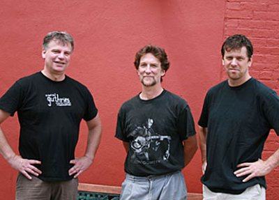 Three Point Trio is a local jazz band.
