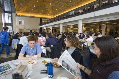 Sustainable Bates dining program