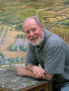 Artist Barry Nemett