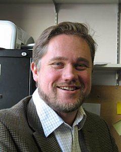 Bates physicist Nathan Lundblad