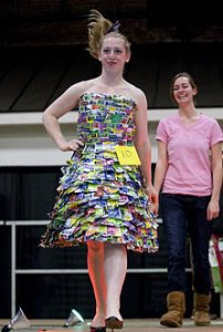 Trashion Show winner, 2009