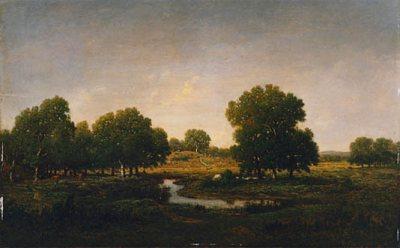 Souvenir du bois d'Arcy, pays de Lantara en Gatinais by Theodore Rousseau, Gift in Memory of Helen Trafton Gutmann