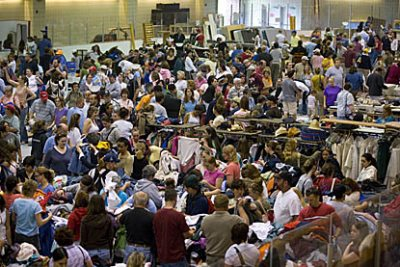 "Clean Sweep, Bates College's seventh annual ""garage sale"" of electronics, furnishings, bikes, toys and other goods donated by departing students, takes place from 8 a.m. to 5 p.m. Saturday, June 16, at the college's Underhill Arena, 145 Russell St."