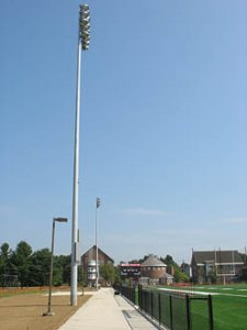 Garcelon Field lights