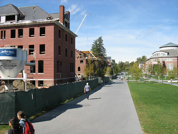Roger Williams Hall, Hedge Hall, Alumni Walk