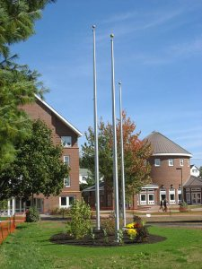 Garcelon flagpoles