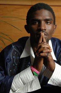 Spoken-word poet IBé.