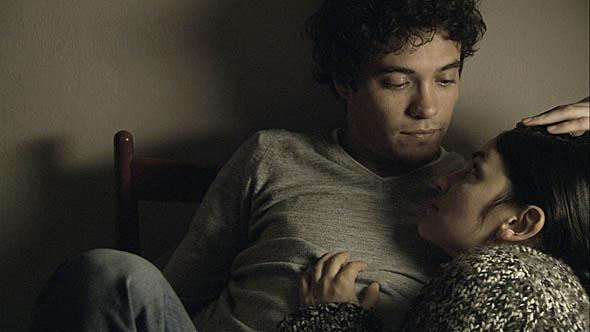 Martin Rodriguez (left) and Cecilia Cosero in Leo's Room