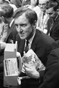 Sen. Edmund Muskie, 1968