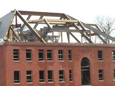 Roger Williams Hall roof