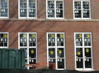 Hedge Hall windows