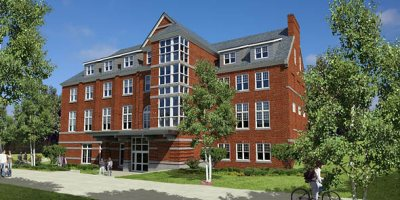 Hedge Hall rendering