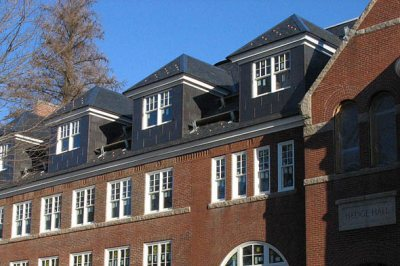 Hedge Hall dormers