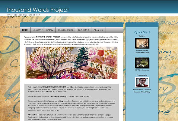 Thousand Words Project