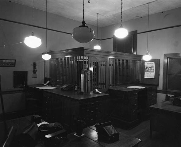 Bursar's office, Roger Williams Hall