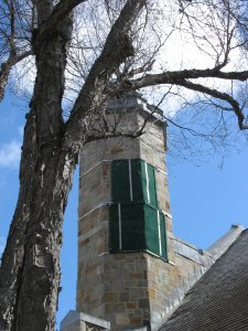Collage Chapel damage
