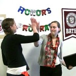 Video: Handing in senior honors thesis, an unforgettable moment