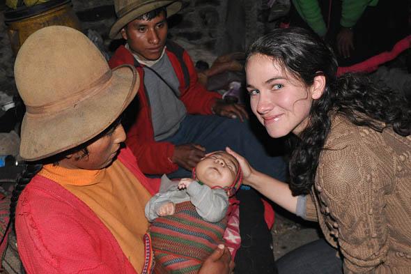 Hannah Porst in Peru