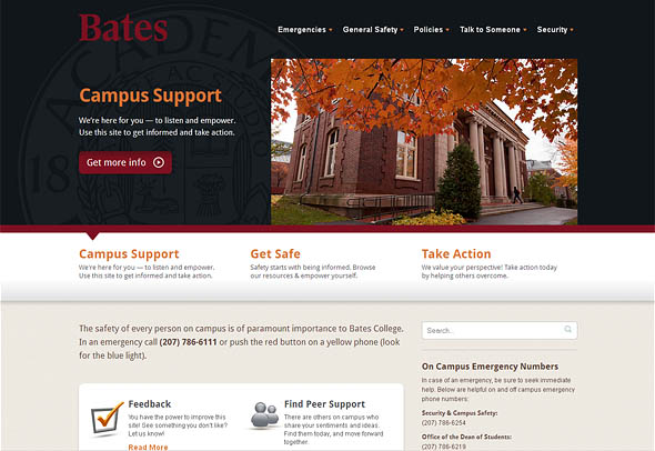 Campus Support website