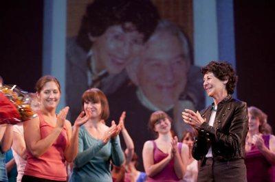 Marcy Plavin and dance alumni