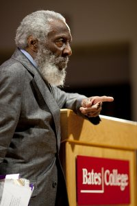 Dick Gregory at Bates