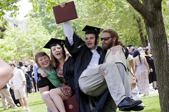 Hopped up graduates
