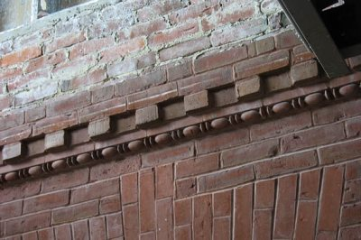 Roger Williams Hall brick detail