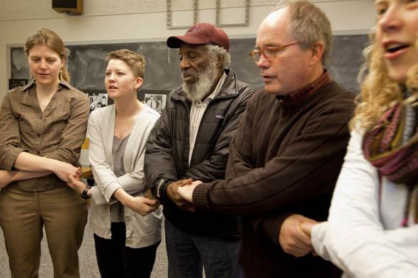 Dick Gregory visit