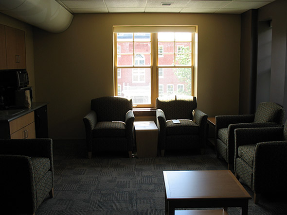 Hedge Hall lounge