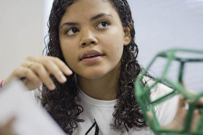 2011 Bates Summer Scholar Yolanda Rodriguez '15