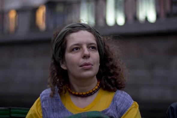 Russian poet Polina Barskova