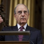 Open to the World: In stories and statistics, Sen. Mitchell sums up worth of higher education