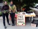 Peninsula Daily News features garden project led by Ellen Sabina '09