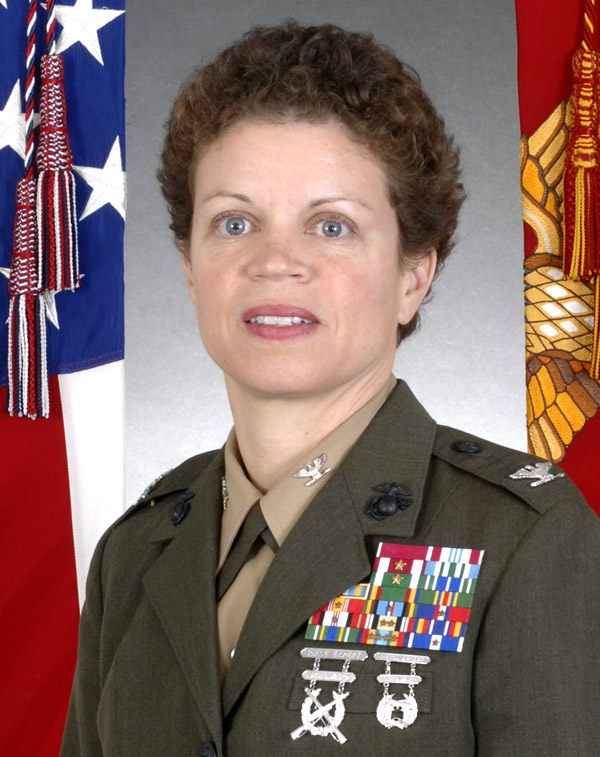 U.S. Marine Col. Stephanie Smith '87