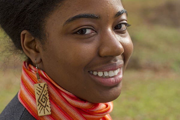 Tiarra Abell '12, a double major in Spanish and anthropology, is spending her December break in Ecuador doing research.