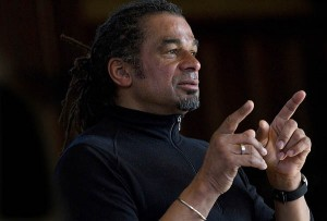 Julian Agyeman offers the 2012 Martin Luther King Jr. Day keynote address in the Bates Chapel.