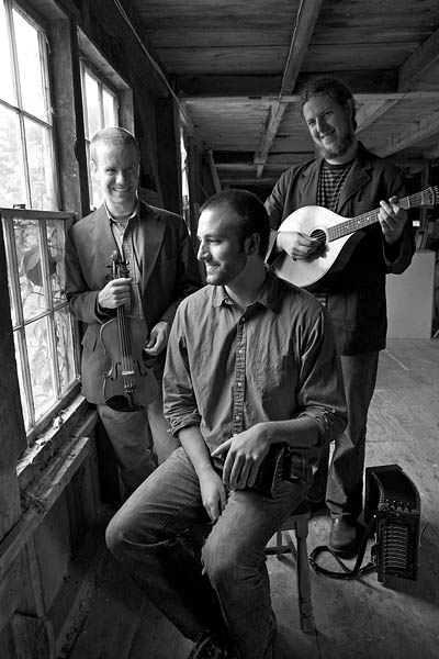 The Press Gang is a Celtic-music trio based in Portland, Maine.